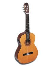 Продам акус. гитару 6 стр. почти новая + чехол, подставку для ног 1200