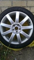 Продам летние шины SAILUN с оригинальными литыми дисками AUDI A6 5 шт