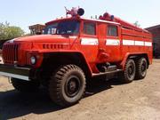 Пожарная машина Урал-740 АЦ40